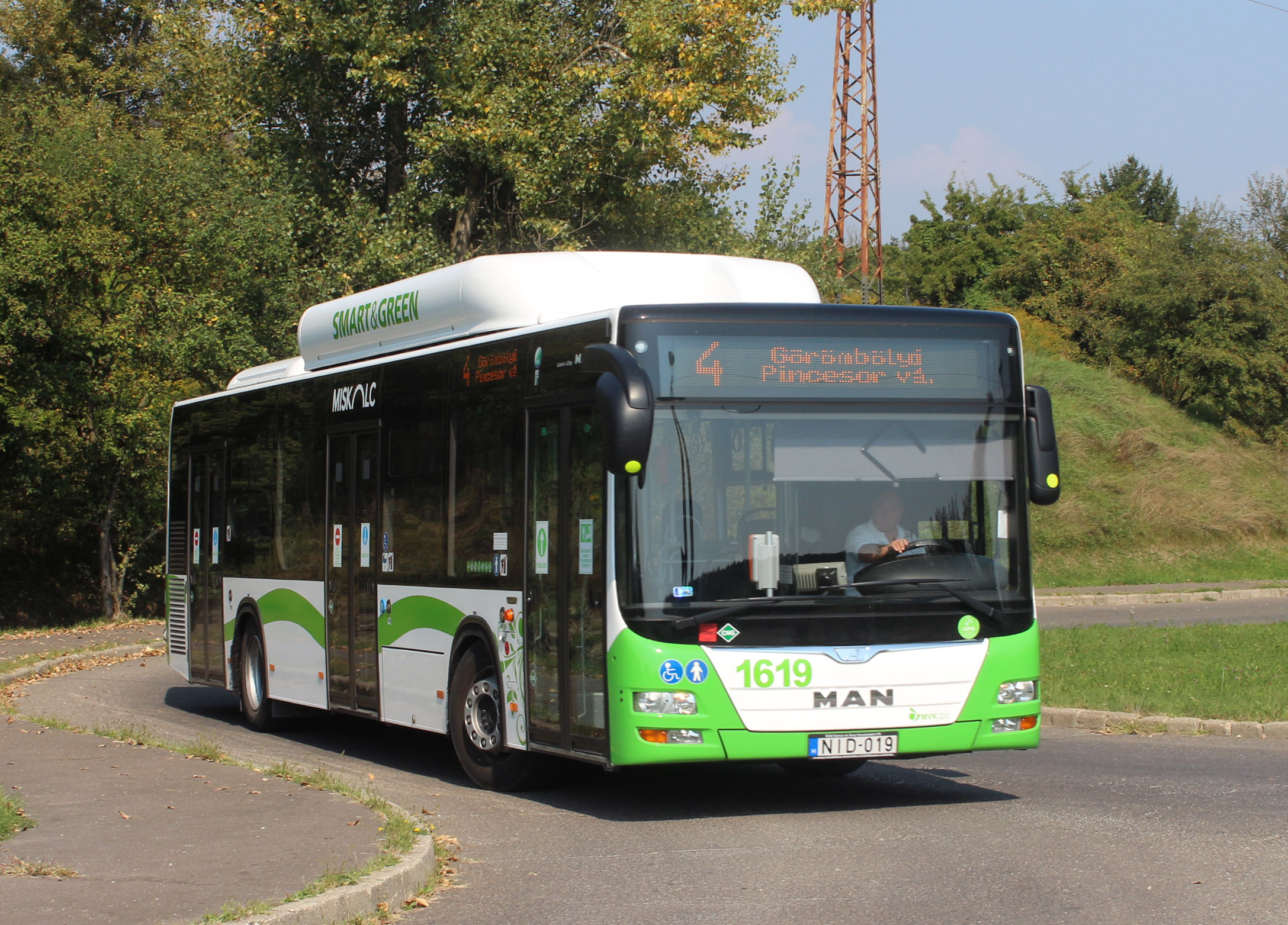 MAN Lion's City A21 CNG