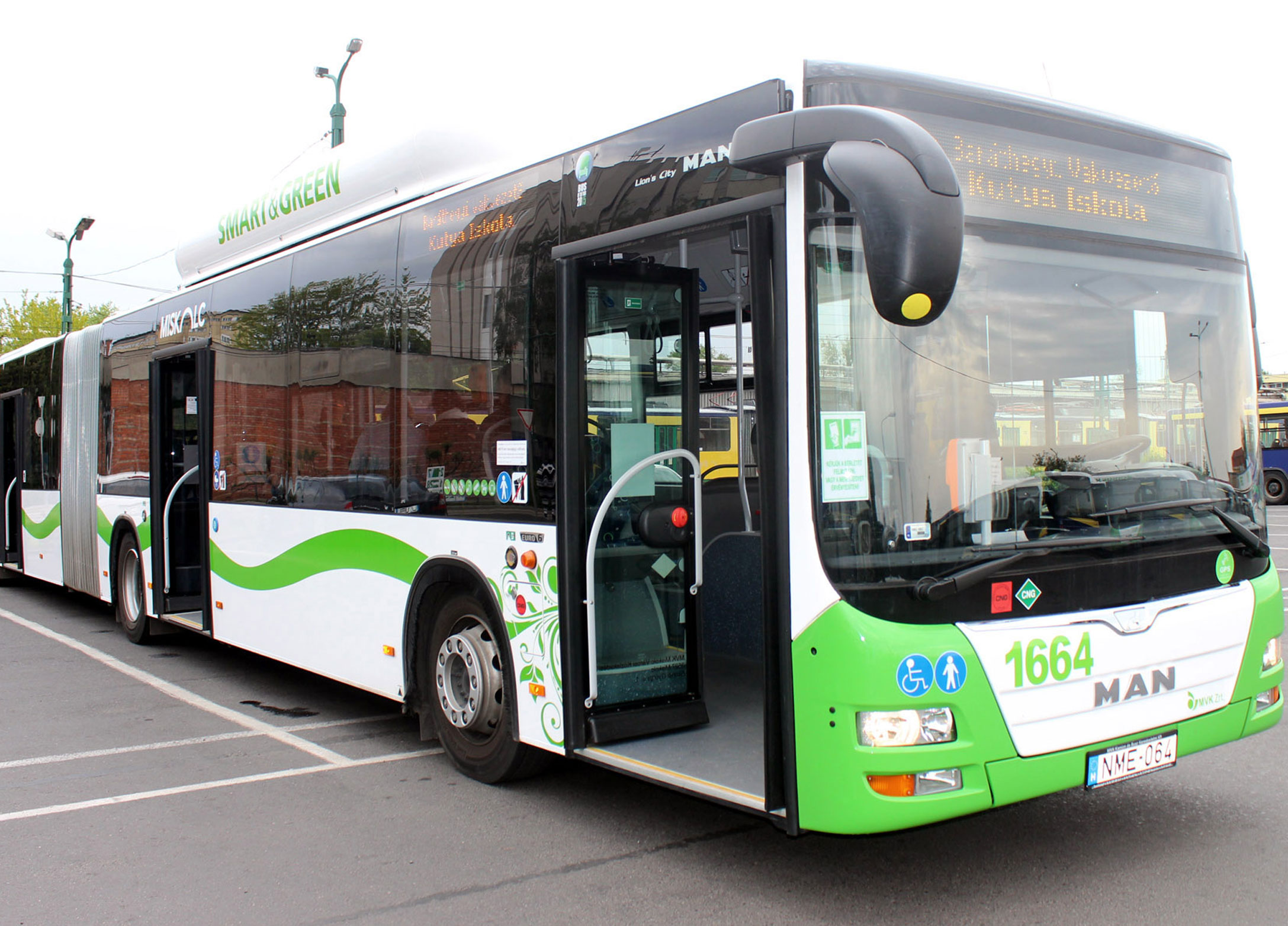 MAN Lion's City A40 CNG