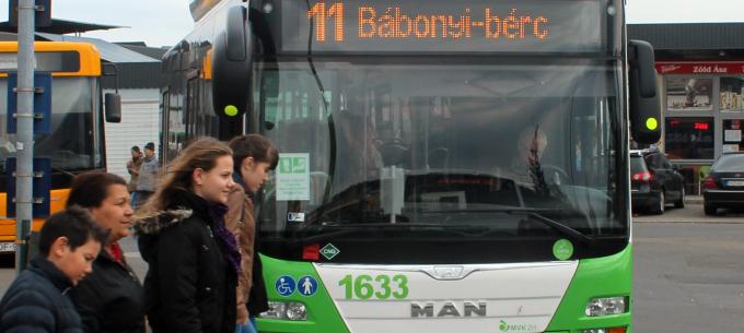 Új buszforduló a Bábonyi-bércen