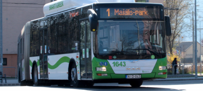 Változás az 1-es, 6-os, 16-os, 21-es, 21B-s, 53-as és 54-es buszok közlekedésében