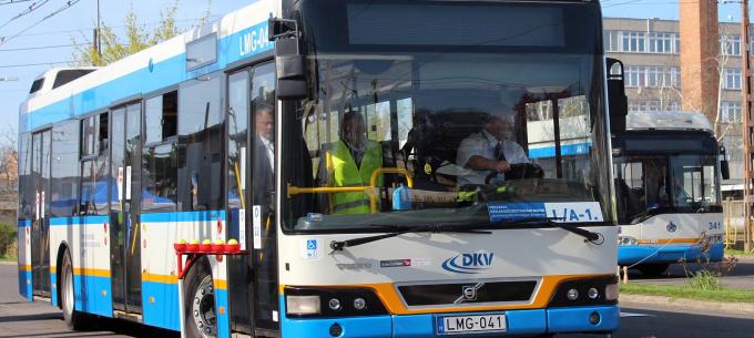 Országos versenyen bizonyítottak az MVK villamos-és buszvezetői