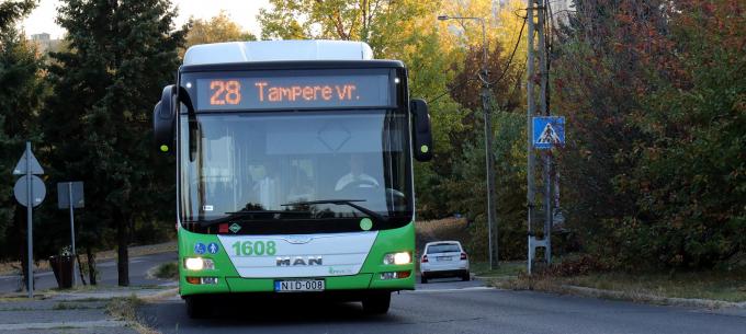 Forgalomterelés a 28-as és 35-ös autóbuszok útvonalán