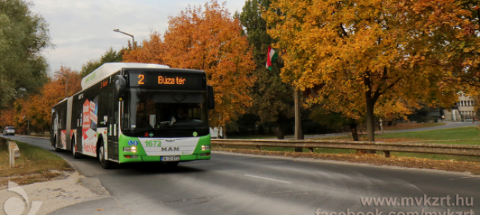 Közlekedési és bérletpénztári információk a novemberi hosszú hétvégére