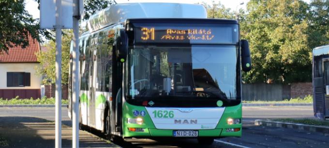 Változik a 31-es autóbusz menetrendje
