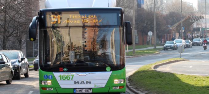 Változás a 30 és 31-es autóbusz közlekedésében