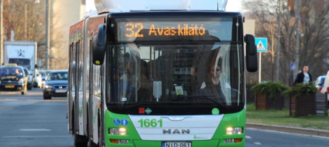 Módosul egy indulási időpont a 32-es autóbusz menetrendjében