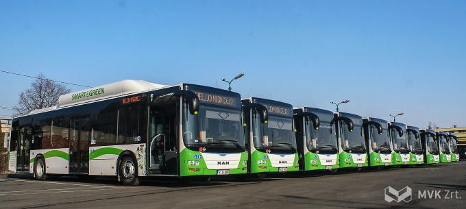 5 évvel ezelőtt álltak forgalomba a CNG buszok