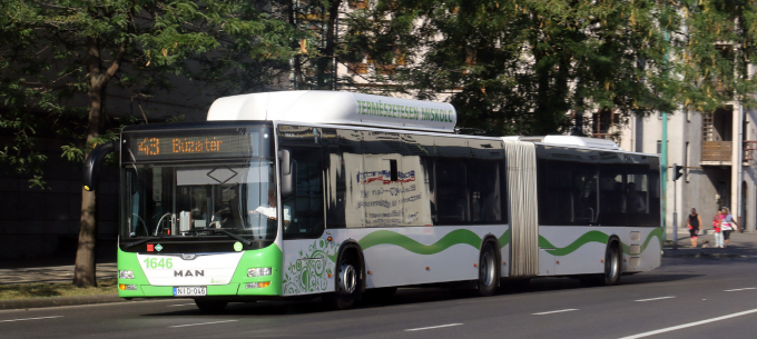 Október 9-től a 43-as autóbusz érinti a Gábor Dénes utca megállóhelyet