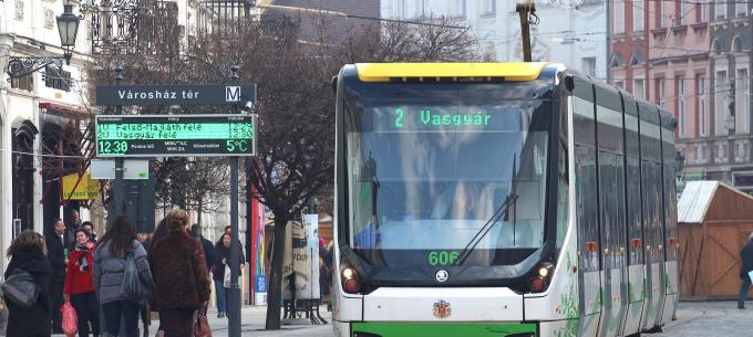 Az integrált utastájékoztatási rendszer szolgáltatása fejlesztés miatt nem lesz elérhető