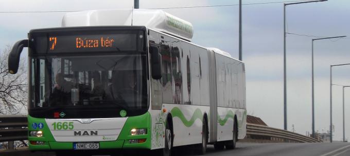 Útépítés miatt terelve fog közlekedni a 7-es autóbusz Felsőzsolcán