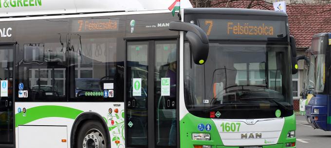 Menetrendi változás a 7-es autóbuszjárat közlekedésében
