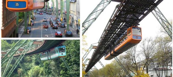 Közösségi közlekedés a világban: Wuppertali függővasút, az első egysínű vasút