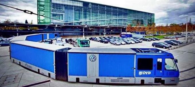 Közösségi közlekedés a világban: Volkswagen villamosjárat
