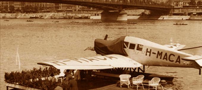 Közlekedéstörténet: 91 évvel ezelőtt nyitották meg Budapest első hidroplánkikötőjét