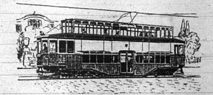 Közlekedéstörténet: Emeletes villamoskocsik