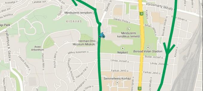 Szeptember 22-én néhány perces késésre lehet számítani kerékpáros felvonulás miatt