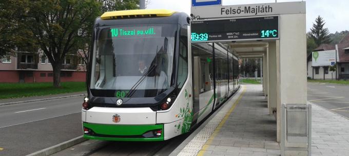 Miskolc, hetedik: újabb új villamos állt forgalomba