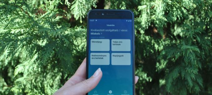 Már Miskolcon is elérhető a közlekedési mobiljegy