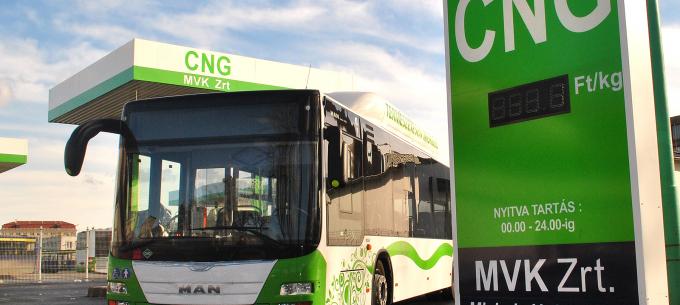 Hamarosan megnyílik Észak-magyarország első CNG töltőállomása