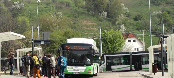 Útlezárás miatt nem a teljes útvonalán közlekedik az 5-ös, 15-ös és 68-as autóbusz
