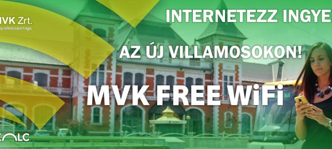 Free WIFI Miskolc összes Škoda villamosán!