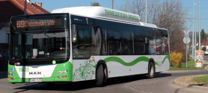 Terelt útvonalon közlekedik a 69-es autóbusz Berekalján