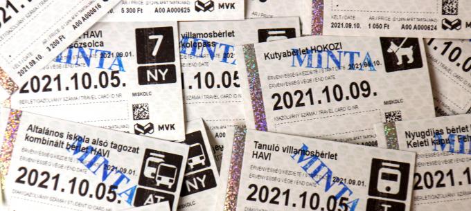 Hőpapíros jegyeket és bérleteket vezet be az MVK