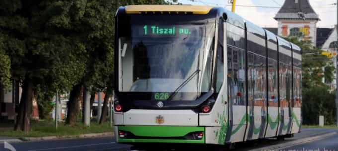 Változik a villamosközlekedés március 22-25. között