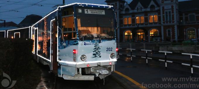 Közlekedés 2017. december 24-én