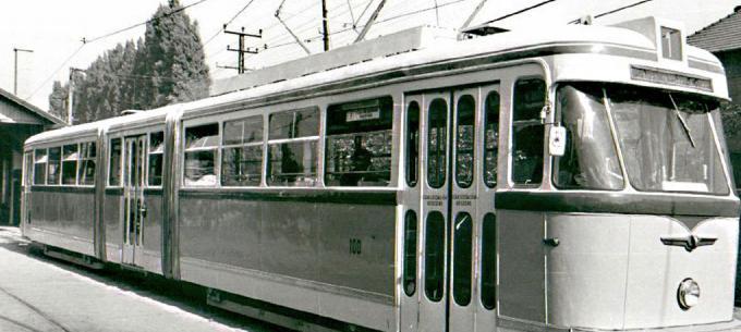 History of tram Vehicle