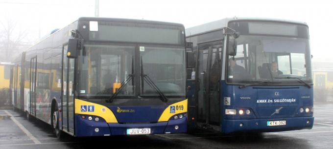 Eltérő megjelenésű buszok is járnak majd Miskolcon csütörtökön és pénteken
