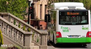 Változik a 11-es autóbusz közlekedése a Bábonyi-bérc irányába