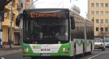 Szeptember 15-én délután a Népkertet is érintő autóbuszok módosított útvonalon közlekednek