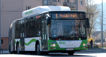 Nem fogad járatokat az Újgyőri piac autóbusz megállóhely