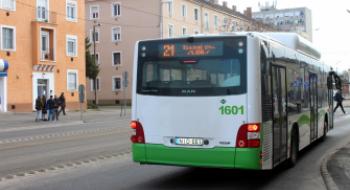 Változik a 21-es autóbuszok közlekedése augusztus 1-jén napközben