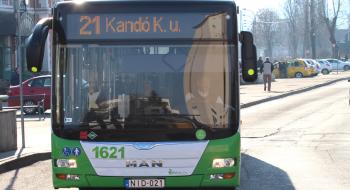 Változik a 21-es, 101B-s autóbuszok menetrendje