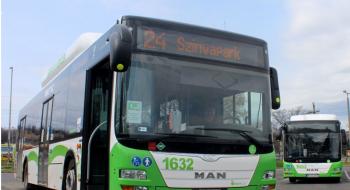 Ideiglenesen áthelyezésre kerül a Szinvapark autóbuszmegállóhely