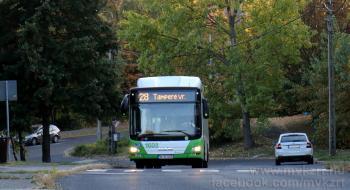 Novembertől módosul néhány indulási időpont a 28-as autóbusz menetrendjében