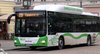 Június 4-én délután a Népkertnél tervelve közlekednek az autóbuszok