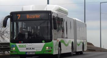 Útfelújítás miatt változik a 7-es, a 8-as és az Auchan 1-es autóbusz közlekedése