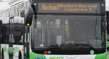 Módosul az Auchan 1-es menetrendje szeptember 20-tól