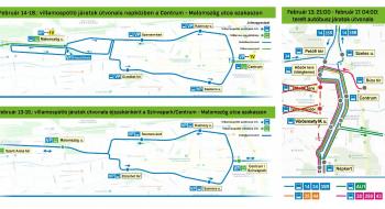 Változik a közlekedés a Miskolci Kocsonyafesztivál idején