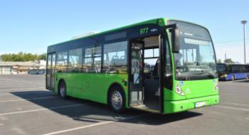 Van Hool midibusz az MVK-nál