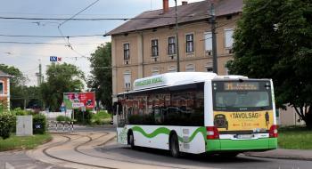 Tovább érvényes a 31-es autóbusz ideiglenes menetrendje