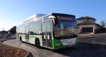 Elkészült az Árok utcai buszforduló