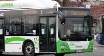 Szombattól ismét eredeti útvonalán közlekedik a 7-es autóbusz