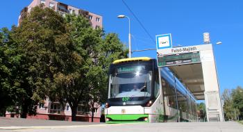 Vágányzár Diósgyőr városközpont és Felső-Majláth között