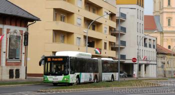 Szeptember 22-én futóverseny miatt módosul néhány autóbusz útvonala