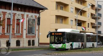 Csütörtökön délelőtt változik a Népkertet érintő buszok útvonala