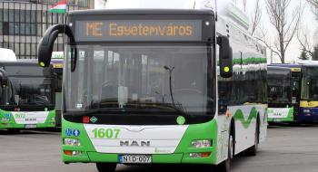 Változik az ME autóbusz útvonala